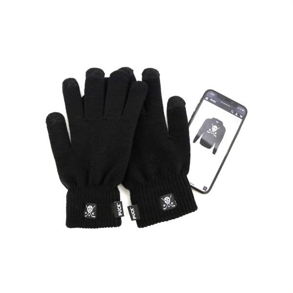 PUCK Gloves black